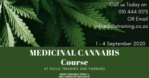 Medical Cannabis Course @ Dicla Training & Farming
