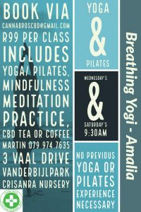 Yoga & Pilates @ Canna Bros Coffee Bar