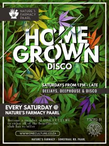 Home Grown Disco @ Nature's Farmacy